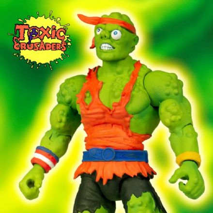 Super7 Toxic Crusaders Deluxe Toxie Action Figure